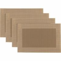 (Premier)Premier Rectangular Woven Placemat 4pcs (Brown)