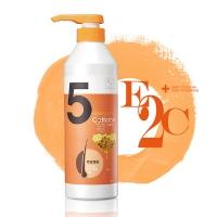 E2C 啡洗不可 蜂蜜‧蠶絲蛋白‧甜扁桃5號豐盈蓬鬆洗髮精(600ml)