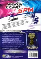 (PENERBIT ILMU BAKTI SDN BHD)REVISI CEPAT SAINS TINGKATAN 4&5 KSSM SPM 2021