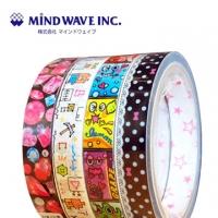 (MIND WAVE)Japan MIND WAVE cute tape - hand-painted Bear / Fruit Elf / lace little bit / diamond