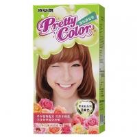 Irbesartan Long Pretty Color Crystal bubble hair dye - flaxen