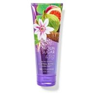 """""""Bath & Body Works BBW"""" fragrance moisturizing body cream brown sugar [fig] Brown Sugar & Fig 226g"""