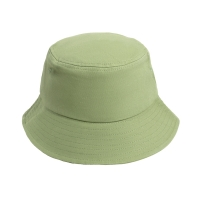 [Japanese and Korean simplicity] Plain fisherman hat sun hat hat basin hat sports sunscreen outdoor climbing leisure men and women trend (olive green)
