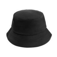 [Japanese and Korean simplicity] Plain fisherman hat sun hat hat basin hat sports sunscreen outdoor climbing leisure men and women trend (classic blac