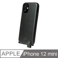 (alto)Alto Anello 360 Neck-mounted Leather Anti-fall Phone Case Back Cover-iPhone 12 mini 5.4 inch black