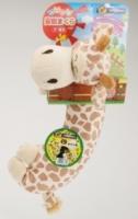 (Doggyman)Doggyman dog pillow with cute animals - giraffe