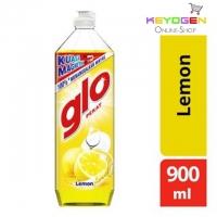 Glo Lemon Dishwashing Liquid 900ml FREE 1pc GOODMAID SCOURING SPONGE