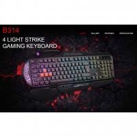 Bloody Light Strike 4-Infrared Mechanical Switch Gaming Keyboard B314
