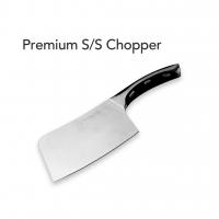 PREMIUM CHOPPER + BAMBOO CUTTING BOARD (L)