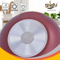 SHEFU Aluminium 28CM WOK with Mouth Designed
