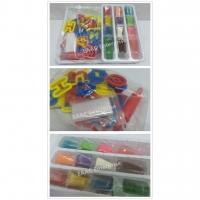 Kid's Play Doh Dough Plasticine ABC Alphabet Mould 12 colours Dough