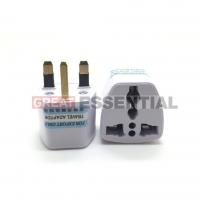 Travel Adapter 10A 250V Travel Universal UK Plug 3 Pin Malaysia Socket Converter