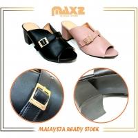2020 Latest Design Lady Luxury Fashion/Formal Chunky-Heel Sandal 211-717[Ready Stock]