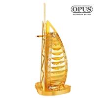 [TAITRA] [OPUS] 3D Metal Puzzle, DIY Educational, Building Toys (B12238 Dubai Burj Al Arab)