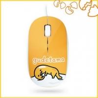 gudetama yolk brother wired mouse - spoiled Orange GU-L01O