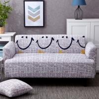 Pistachio elastic sofa sets three-seater