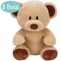 I Bow Fluffy Animal - Brown Bear