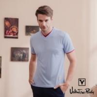 (Valentino Rudy)Valentino Rudy Fernando Frozen Tilips - Purple Blue - Round Collar