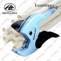 HENGLIDA 20-32mm Heavy Duty PVC Pipe Cutter Ratchet Scissors Tube Cutter for PVC/PU/PP/PE Hose Cutting Hand Tools