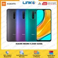 Xiaomi Redmi 9 (3GB RAM + 32GB ROM) Smartphone - Original 1 Year Warranty by Xiaomi Malaysia (MY SET)