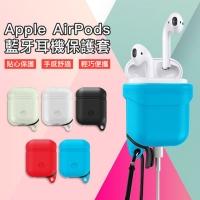 (C-KU)C-KU Apple Apple AirPods Bluetooth Headset Storage Box Silicone Case Cover Anti-slip Set Charge Box