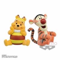 Japanese goods BANPRESTO Fluffy Puffy Furry Winnie the Pooh