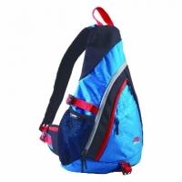 """Sasaki"" multi-function ultra-light breathable waterproof messenger bag (Sweden blue / black) / 004 802"