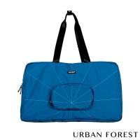 (URBAN FOREST)URBAN FOREST Urban Tree-Folding Travel Bag / Travel Bag (Dark Ocean Blue)