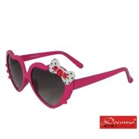 (docomo)[Docomo Girls' Sunglasses] Love modeling frame design, cute bow shape, little girl's favorite anti-UV400