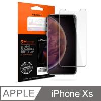 SGP / Spigen iPhone XS Glass Glas.tR SLIM HD防爆玻璃保護貼