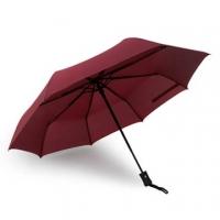 PUSH! Good GOOD umbrella, automatic umbrella umbrella umbrella sunny umbrella three folding I28-2 burgundy