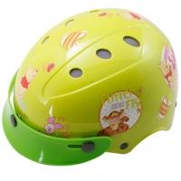 (小熊維尼)Flower Pooh adjustable bicycle helmets for children