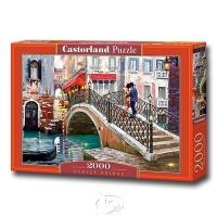 Romantic Venice Bridge - 2000 pieces of Venice Bridge