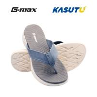 G-Max Ladies Slipper - Blue/Navy Blue/Camel 019-01149