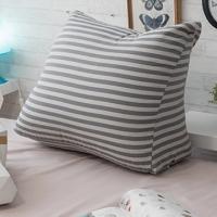 [TAITRA] Anna Home MIT Leg Elevation Pillow (Gray Stripes) - 53x45x25cm