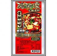 (JI SUN)JI SUN Mongolian spicy hot pot soup base 4 servings (vegetarian)
