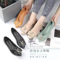 Lady Pointed Toe Flat Jelly Shoe Cindy / Kasut Jelly Wanita Cindy