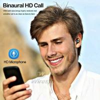 WIRESTO TWS WIRELESS EARBUDS MINI BLUETOOTH 5.0 EARPHONE MOBILE POWERBANK EARPHONE POWERBANK EARPHONE MOBILE STAND CASE