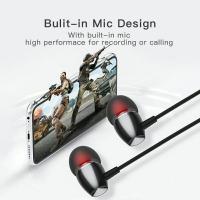 ZNT M-02 EARPHONE HIFI SOUND DRIVER EARBUD SPORT EARPHONE WITH MICROPHONE WITH 3.5MM PORT HEADSET HIGH BASS EARPHONE