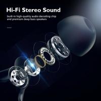 ZNT SOUNDBOOM HIGH BASS QUALCOMM® APTX™ WIRELESS BLUETOOTH EARBUDES BLUETOOTH 5.0 SUPERB DEEP BASS TOUCH CONTROL EARBUDS