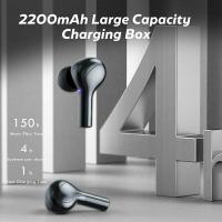 AMOI F9-278 GAMING EARPHONE WIRELESS BLUETOOTH 5.0 EARBUDS EARPHONE 9D STEREO WIRELESS HEADPHONE POWERBANK LOW LATENCY