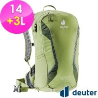 (DEUTER)[German deuter] RACE EXP Air Bicycle Bag 14+3L (3204421 Pistachio Green/Net Frame/Bicycle Backpack)