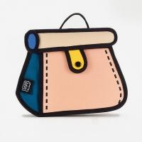 (JumpFromPaper)JumpFromPaper 2D bag melon cake bag shoulder bag chain bag handbag