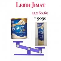 Abbott Ensure Gold Sachet - Vanilla/Wheat (60.6g x 15s)