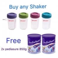 Shaker (300ml) [Free Abbot Pediasure Vanilla 850g x 2]