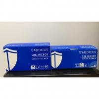 Medicos Sub Micron (Sea Blue) 3 ply earloop surgical mask 50s
