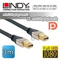 (LINDY)LINDY Lin Dili CROMO mini-DP public on the mini-DP public version 1.3 digital cable 3m (41543)