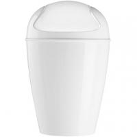 (KOZIOL)KOZIOL Del swing lid trash (white XS)