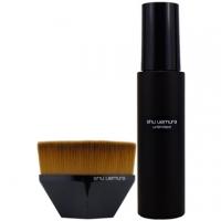 """""""Shu Uemura"""" Infinite Lasting Makeup Setting Spray 100ml+#55 Zero Scratch Foundation Brush"""