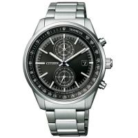 (citizen)CITIZEN Gentleman Eco-Drive Chronograph CA7030-97E
